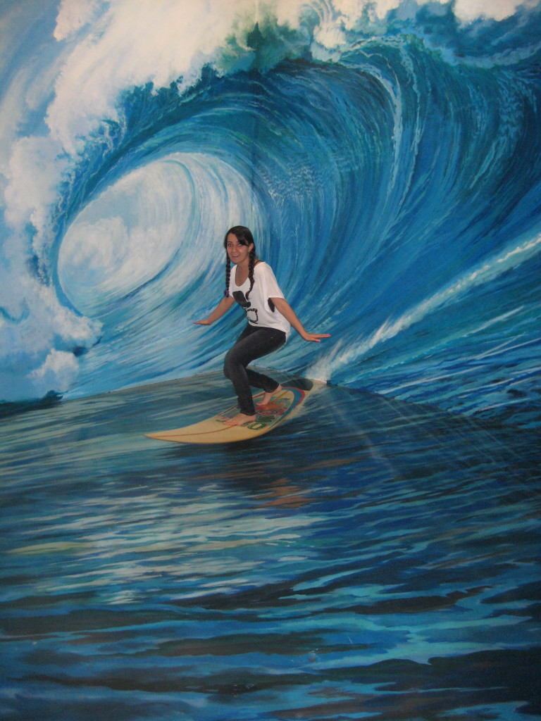 Surfing in 3D Art