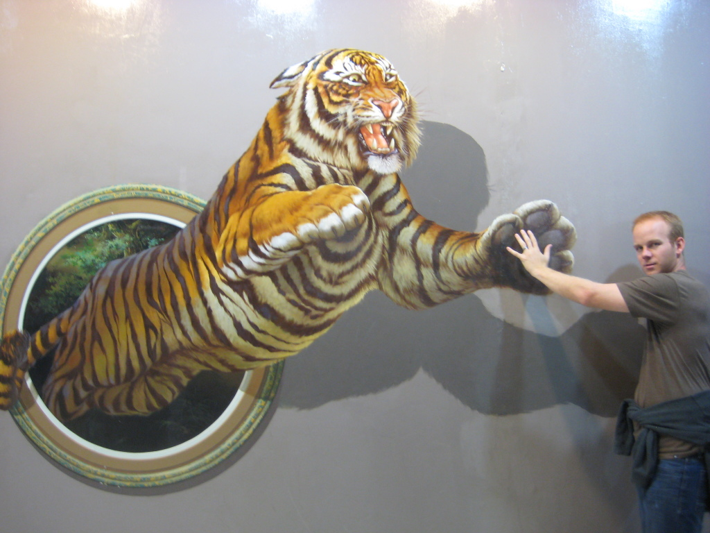 Art In Paradise - Chiang Mai, Thailand. High five!