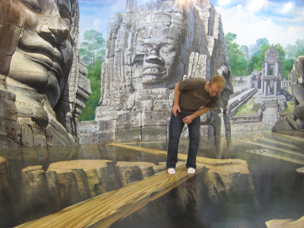 3D Art illusions - Chiang Mai, Thailand