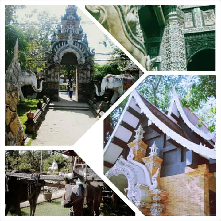 Wat Lok Molee- Chiang Mai, Thailand