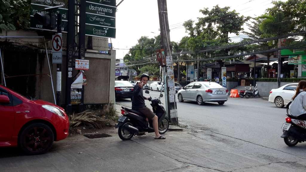 Motorbike in Chiang Mai - Soi 15