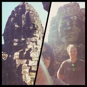 Angkor Thom/Bayon-Siem Reap Cambodia