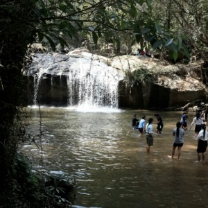 Mae Sa Waterfalls Middle Level