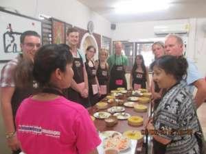 Asia Scenic Cooking School-preparing ingredients