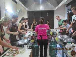 Asia Scenic Cooking School - Cooking