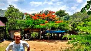 Land Split, Pai, Thailand