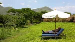 resting in Pai, Thailand