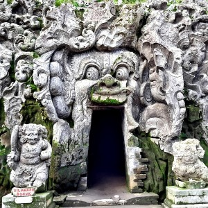 Goa Gajah - Elephant Cave, in Ubud, Bali