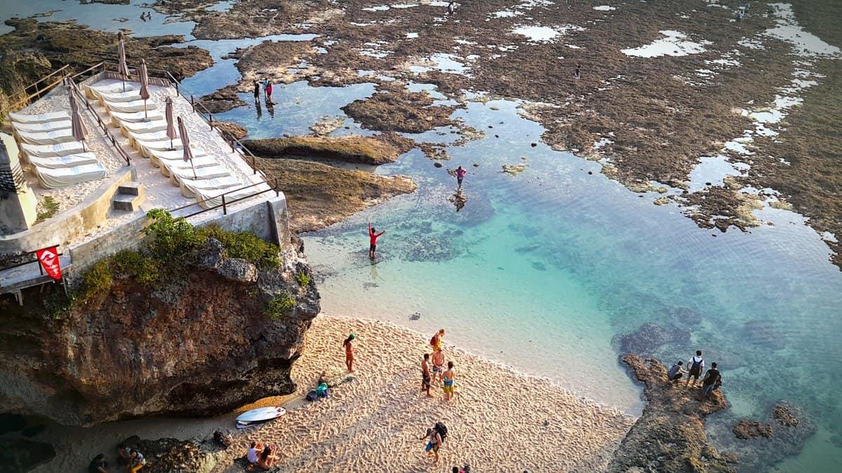 To Beaches - Blue Point Beach, Bali