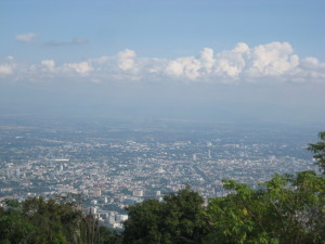 chiang mai view from doi suthep