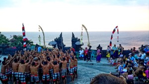 kecak performance at Uluwatu temple