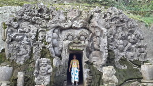 Pura Goa Gajah, Bali, Indonesia