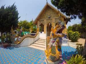 Budhist Temple near Rabaeng Pasak