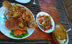 dinner at Rabaeng Pasak