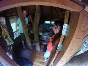 inside of Tamarind Treehouse