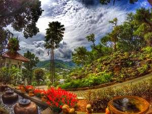 Panviman Spa Resort Chiang Mai front entrance