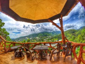 Panviman Resort Chiang Mai - View From Recreation Area