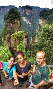 Zhangjiajie National Forest, Hunan Province, China