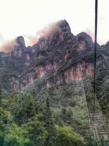 Cable Car at Tianmen Shan, Zhangjiajie, Hunan, China