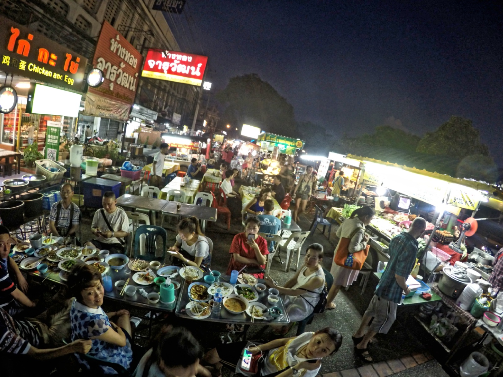 Chang Puak Gate Food Stalls - Best Chiang Mai Street Foodd