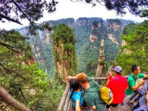 Quartz-Limestone Karst Pillars - Zhangjiajie National Forest, Hunan Province, China
