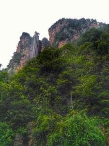 Bailong Elevator at Zhangjiajie National Forest, Hunan, China