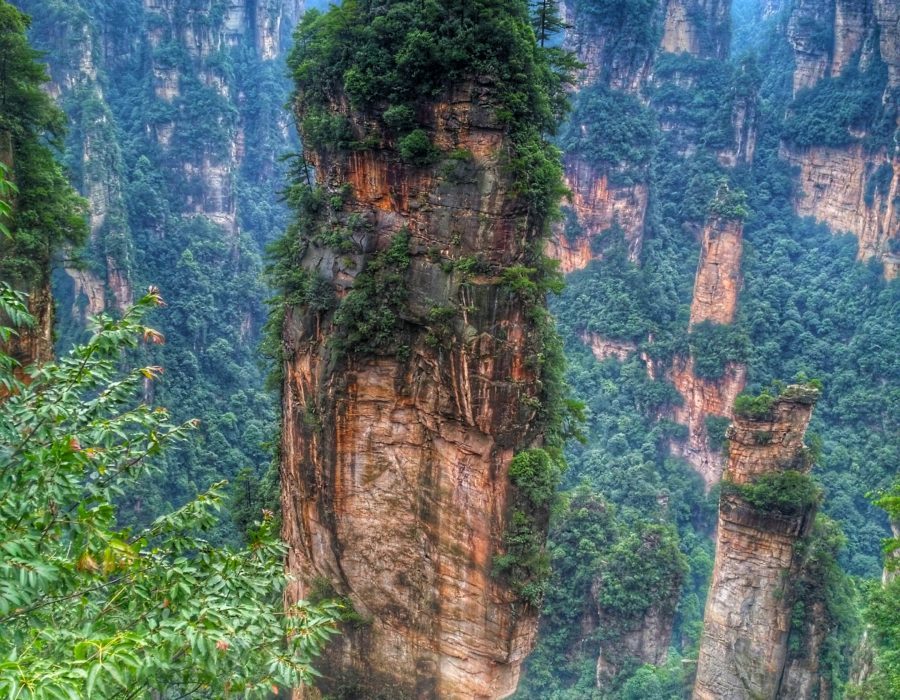 Heavely Pillar - Hallelujah Mountain, Zhangjiajie National Forest, China