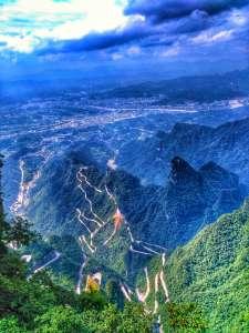 Views From Tianmen Mountain, Jiangjiajie, Hunan, China