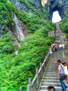 Stairway To Heaven, Tianmen Cave, Tianmen Shan, China