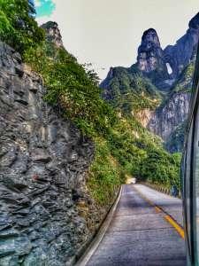 99 Bend Road, Tianmen Shan, Jiangjiajie, China