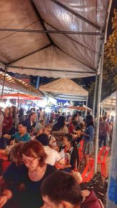 saturday Night Market - Street Food Chiang Mai, Thailand