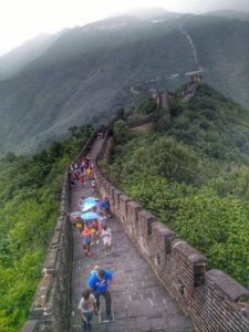 View Of Mutianyu Great Wall, China