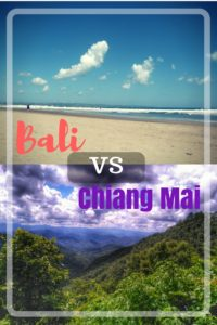 Chiang Mai versus Bali - living as digital nomads or location independent