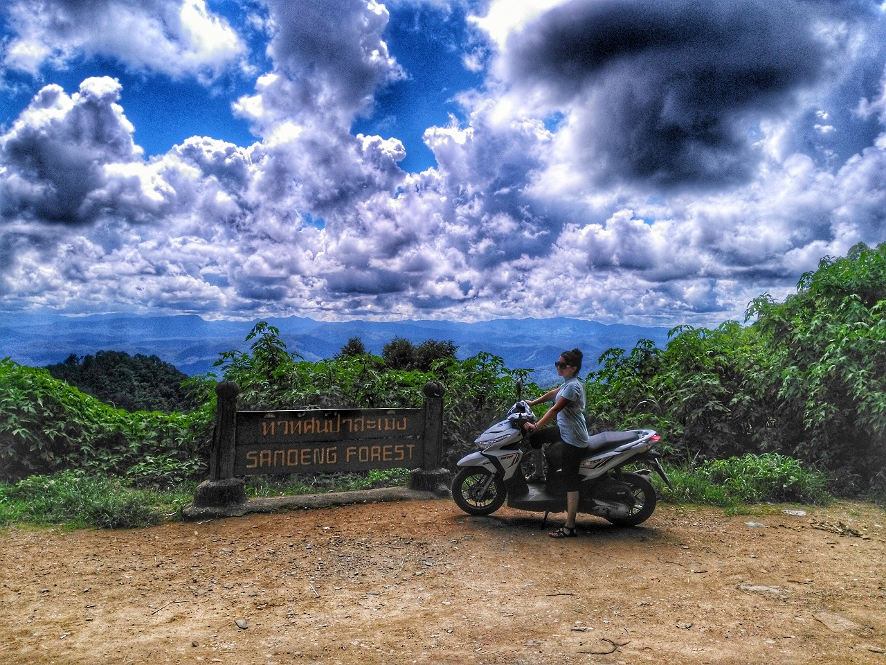Motorbike Ride On Samoeng Loop in Chiang Mai