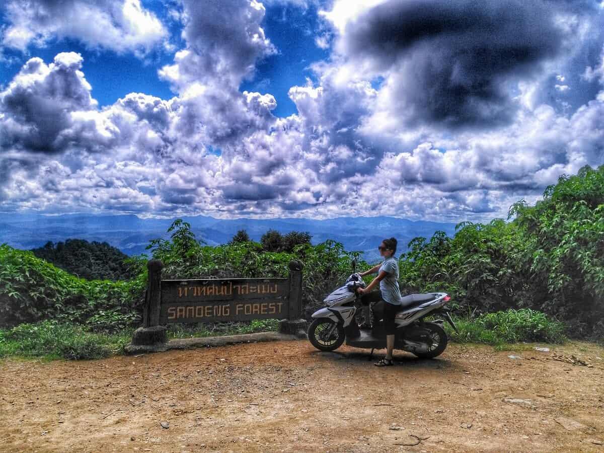 Motorbike Ride On Samoeng Loop in Chiang Mai