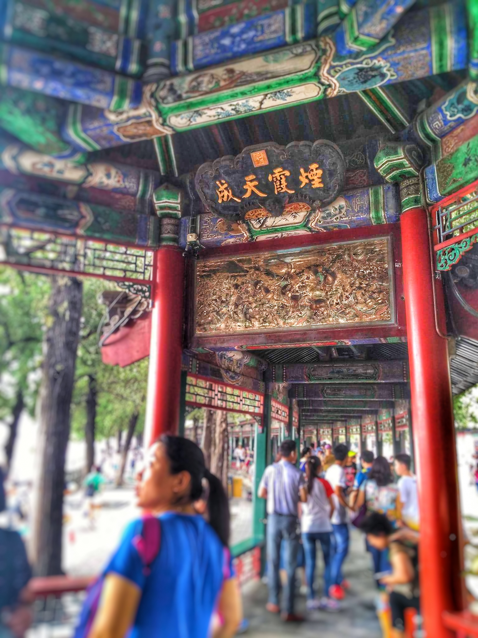Beijing Top Things To Do - Summer Palace Passageway