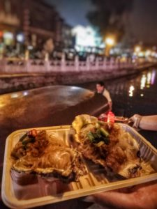 Beijing 2 day Itinerary - Best Things to do: Houhai Bar Street, street food