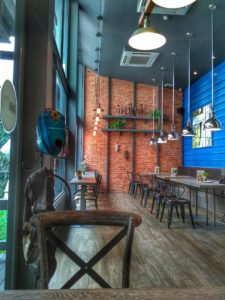 inside DBistro Cafe- Best dessert Chiang Mai, Thailand