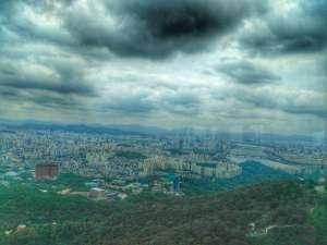 Seoul Views from N. Seoul Tower