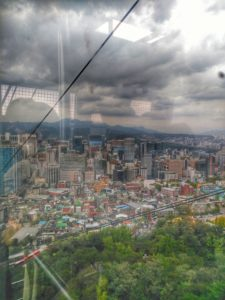 Namsan Cable Car, Seoul, South Korea