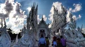 Wat Rong Khun Entrance - Chiang Rai, Thailand Travel