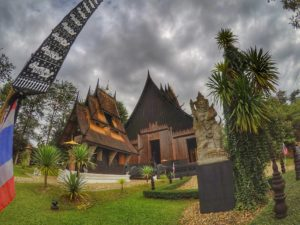 Thailand Travel Guide: Baan Dam - Black House Museum, Chiang Rai, Thailand
