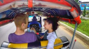 things to do and travel guide - Tuk Tuk riding in Chiang Rai, Thailand