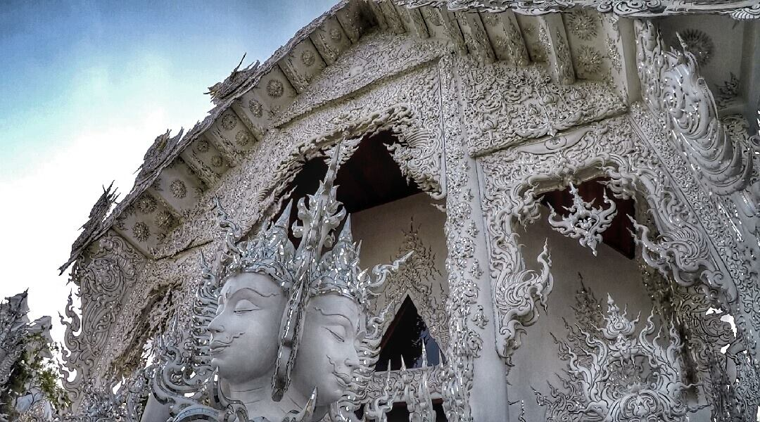White Temple - Chiang Rai, Thailand - Top Things to See