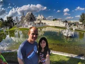 TogetherinThailand.com - visiting Wat Rong Khun, White Temple, Chiang Rai, Thailand