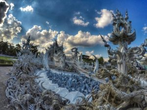 hands reaching up - Wat Rong Khun, Chiang Rai, Thailand - Must See