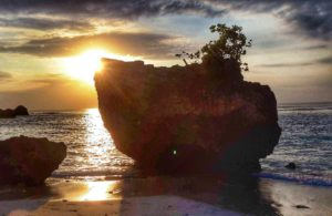 Padang Padang Beach at Sunset, Bali, Indoenia Travel Photo