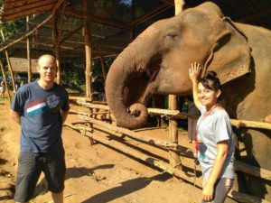 elephant tour, no riding - Chiang Mai, Thailand