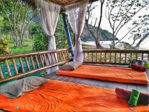 massage on the private beach in Koh Lanta - Best place to stay LaLaanta Resort