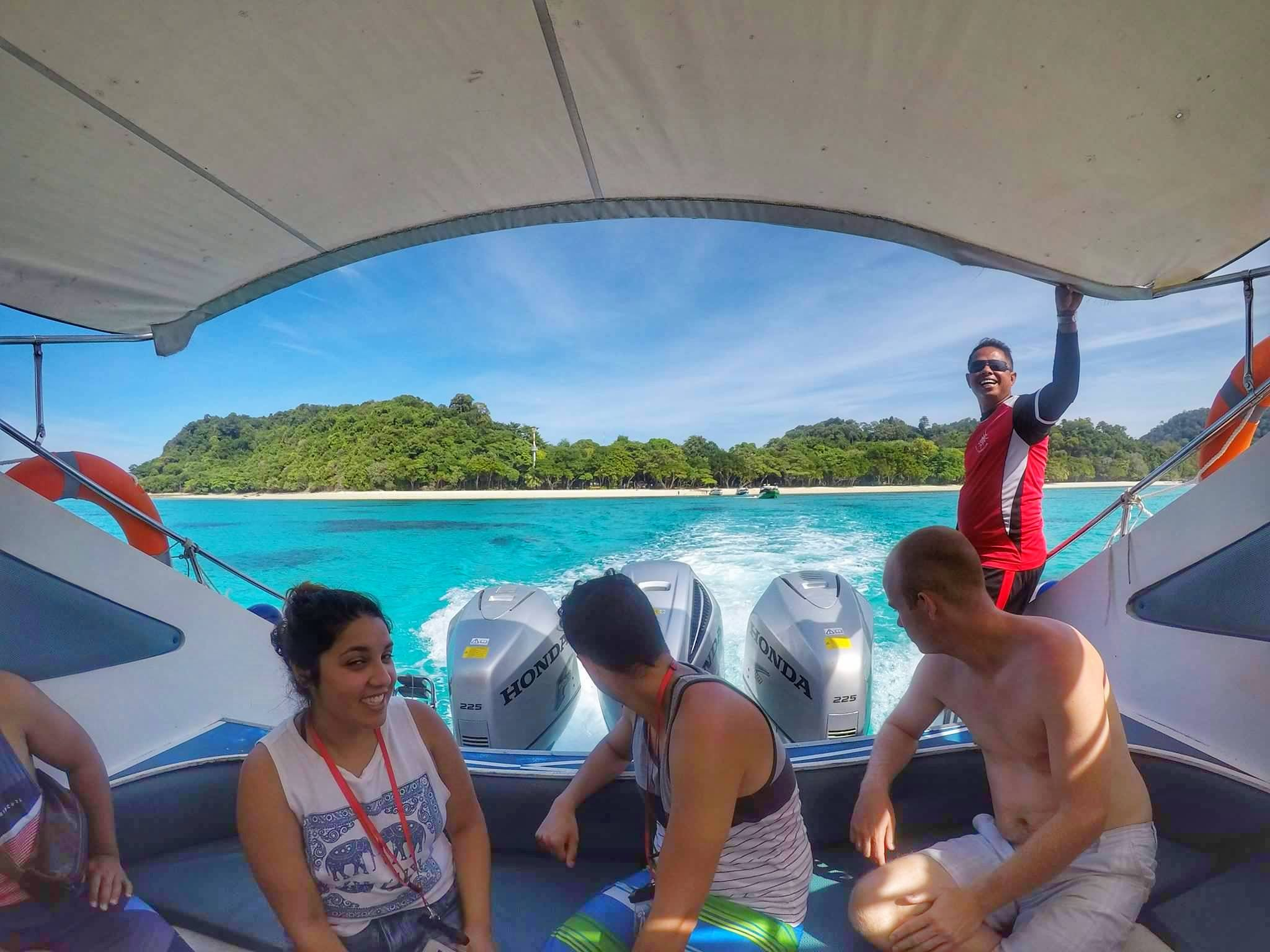 Opal Speedboat Tour from Koh Lanta to Koh Rok for snorkeling